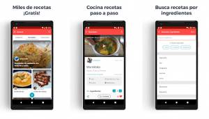 5 mejores apps gratis para planificar menús y recetas