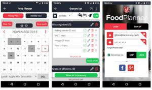 app, apps, aplicaciones, menu, receta, recetas, menus, alimentación, sano, organizar